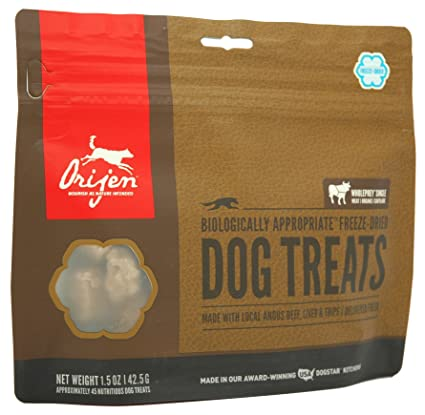 Amazoncom Orijen Angus Beef Freeze Dried Treats 15 Oz Pet Supplies