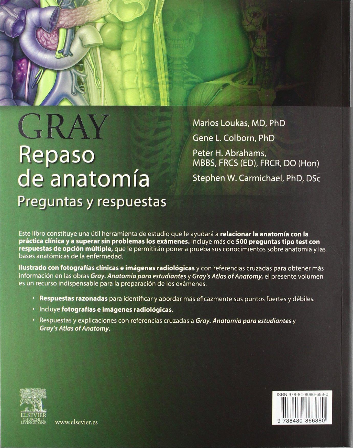 Pack GRAY. Anatomía para estudiantes (con Student Consult) + GRAY ...