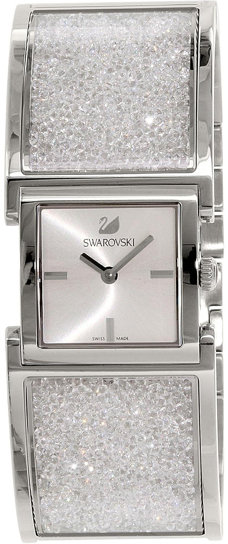 Swarovski Damen-Armbanduhr Kristalline 5027134 Silber Edelstahl Swiss Quarz