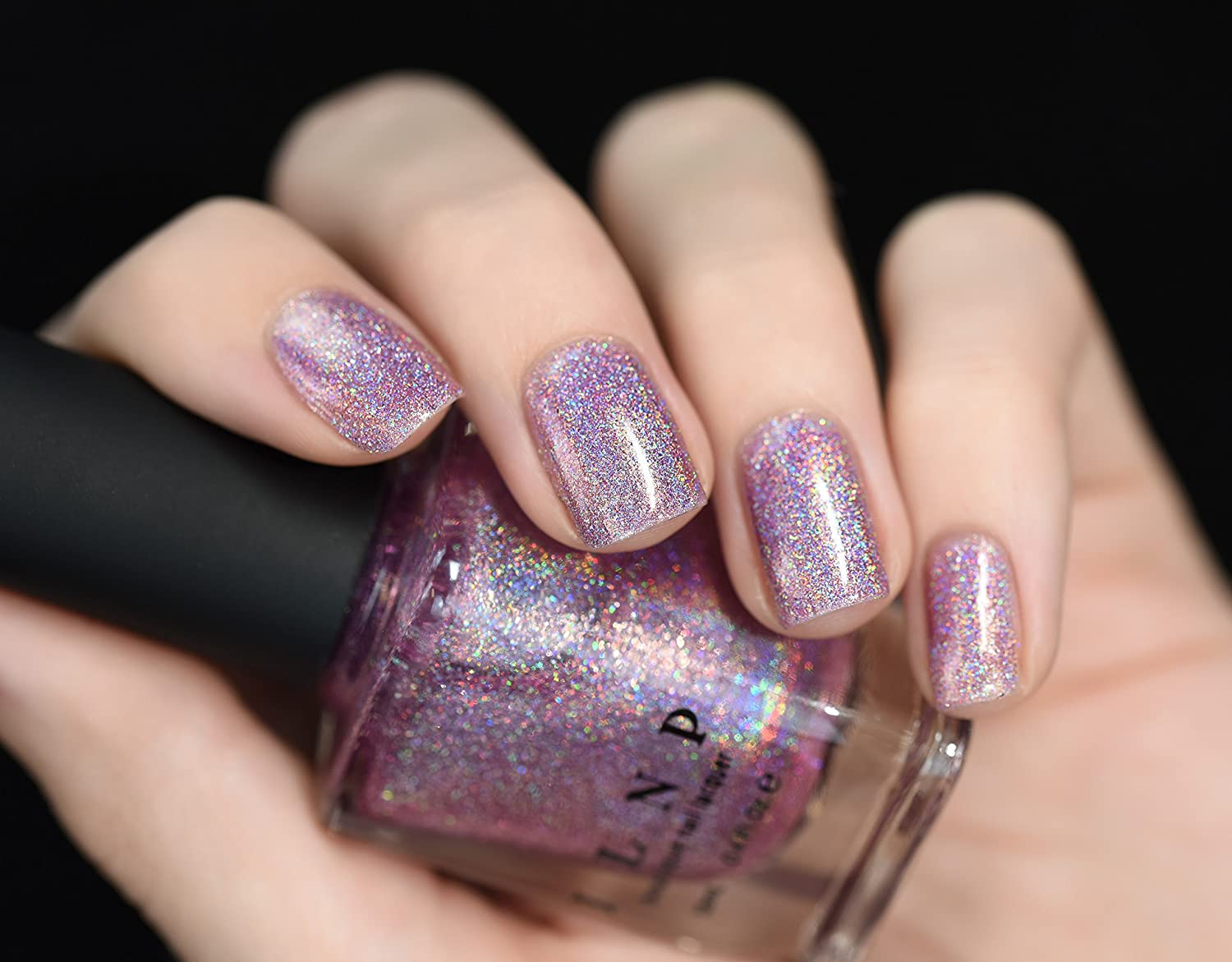 Amazon.com : ILNP Dream Girl - Light Orchid Ultra Holographic Nail ...