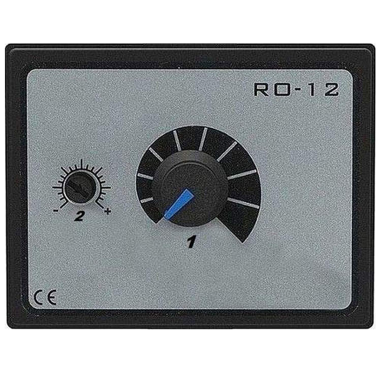 Regulador industrial de velocidad, 500 W, para motor de ventilador, 230 V, controlador de voltaje, transformador, con interruptor 500W 230V Uzman-Versand