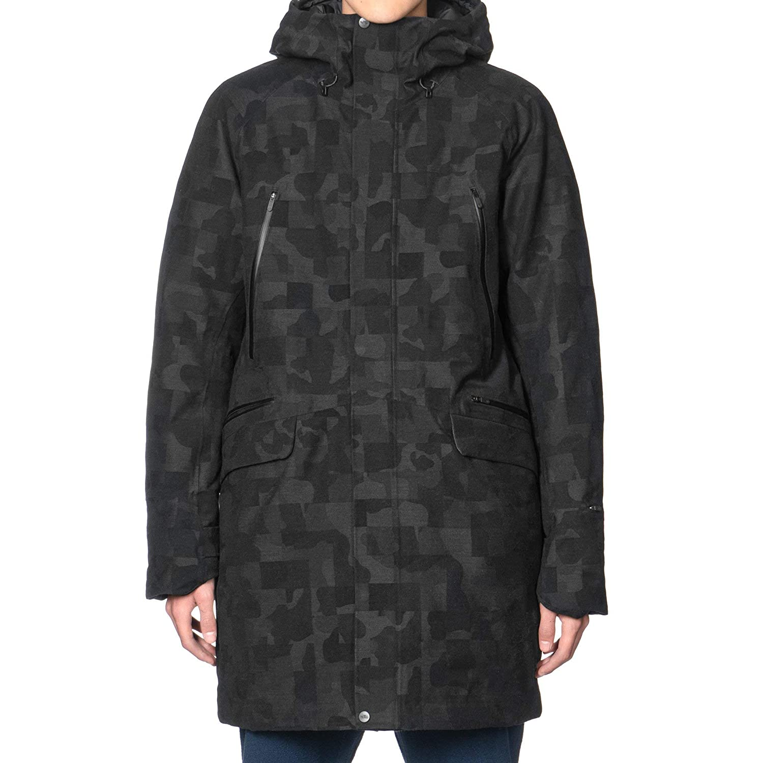 贅沢品 (ザノースフェイス) THE NORTH FACE Black series Jacquard Wool L Wool Blend Down Parka GTX 男性パディングジャケット (並行輸入品) B07NJK2RS8 L|Black Jacquard Black Jacquard L, 鯖江市:40b00a96 --- arianechie.dominiotemporario.com