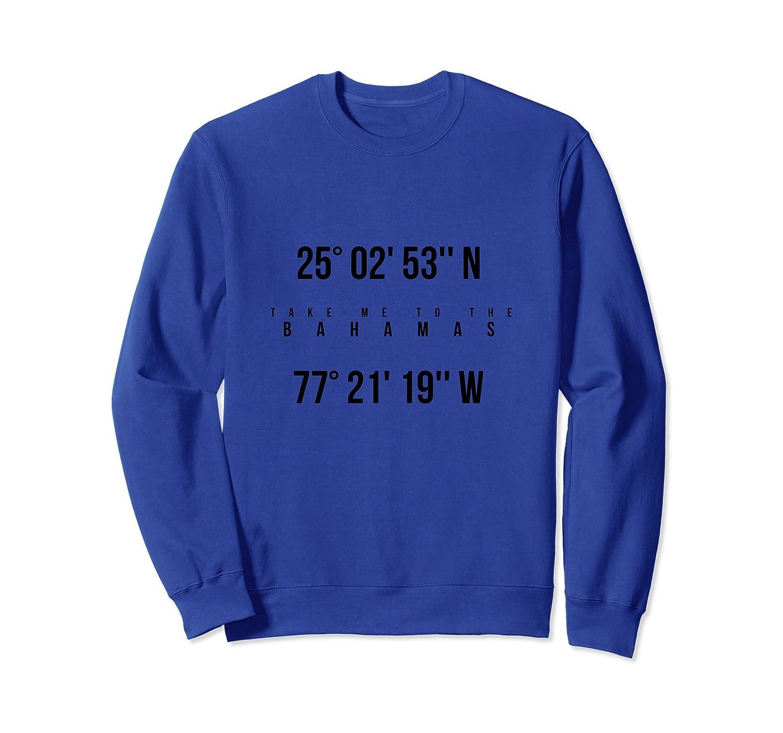 Take Me to The Bahamas Vacation Travel Souvenir Sweatshirt-mt