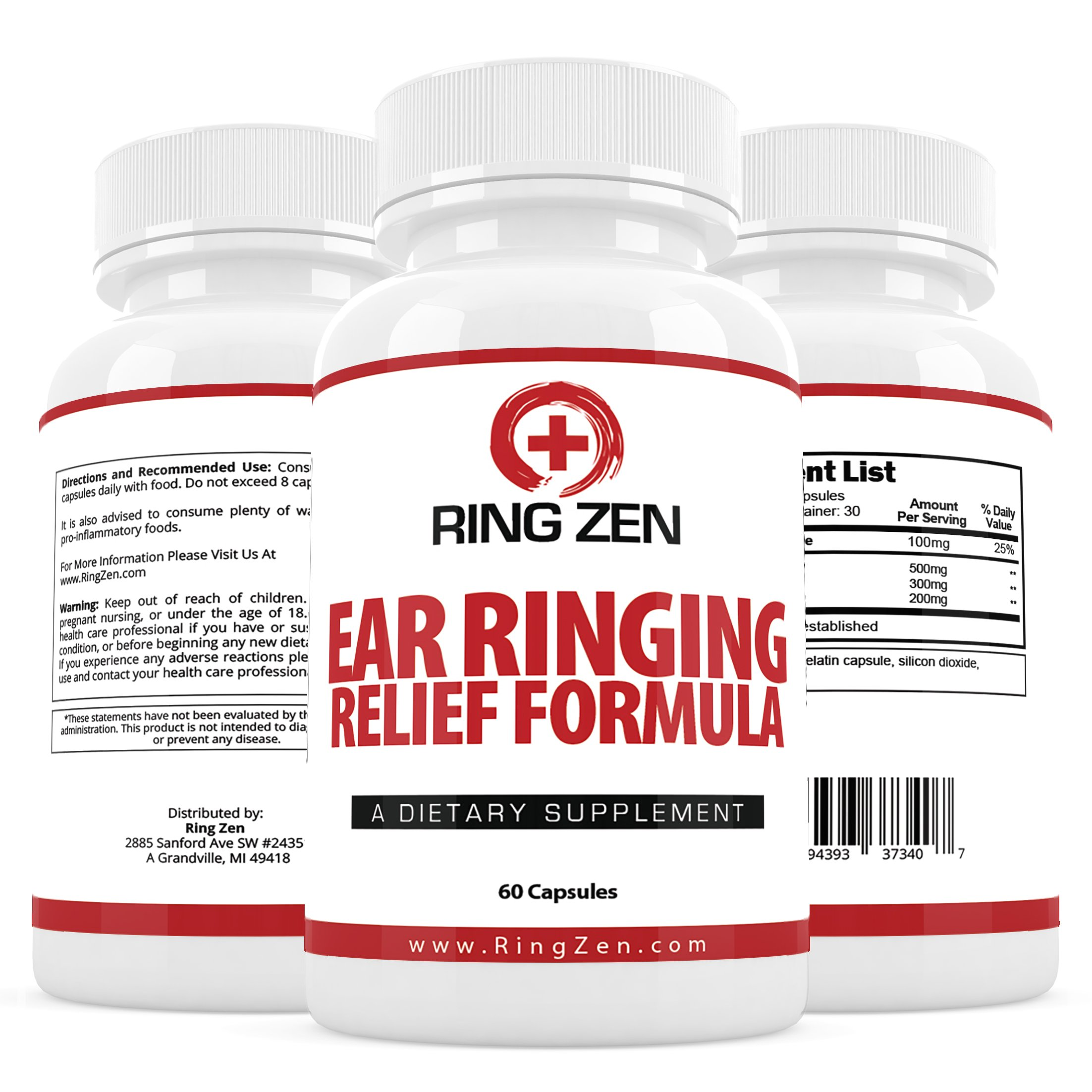 Ear Ringing Relief Formula