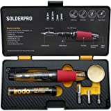 Iroda Solderpro 50K Cordless Soldering Iron Kit, 4-in-1 Portable, Heat Shrink, Hot Knife, Butane Soldering Iron Torch…