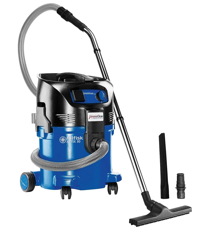 Nilfisk Alto 107403508 Aspiradora en seco y húmedo, 230 V, Negro, Azul: Amazon.es: Industria, empresas y ciencia