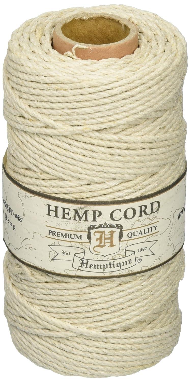 Hemp Cord Spool 48# 205 Feet/Pkg-Natural Hemptique HS48NA
