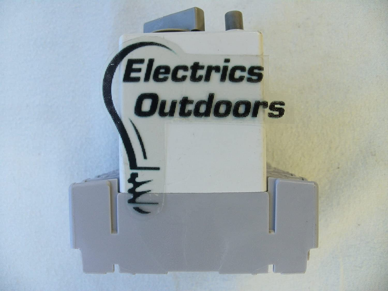 Fg 63 Amp 100 Ma Double Pole Elbc Rccb Rcd Fie 01 Poles 2p Elcb Earth Leakage Circuit Breaker Diy Electricals Kitchen Home