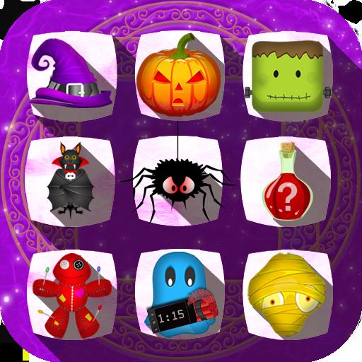Halloween Drops - Match three puzzle ()