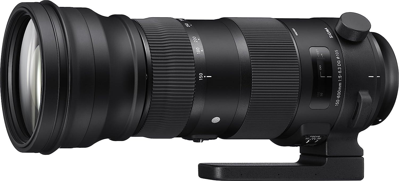 Sigma 740955 - Objetivo para cámara Nikon, 150-600 mm F5-6.3 DG OS ...