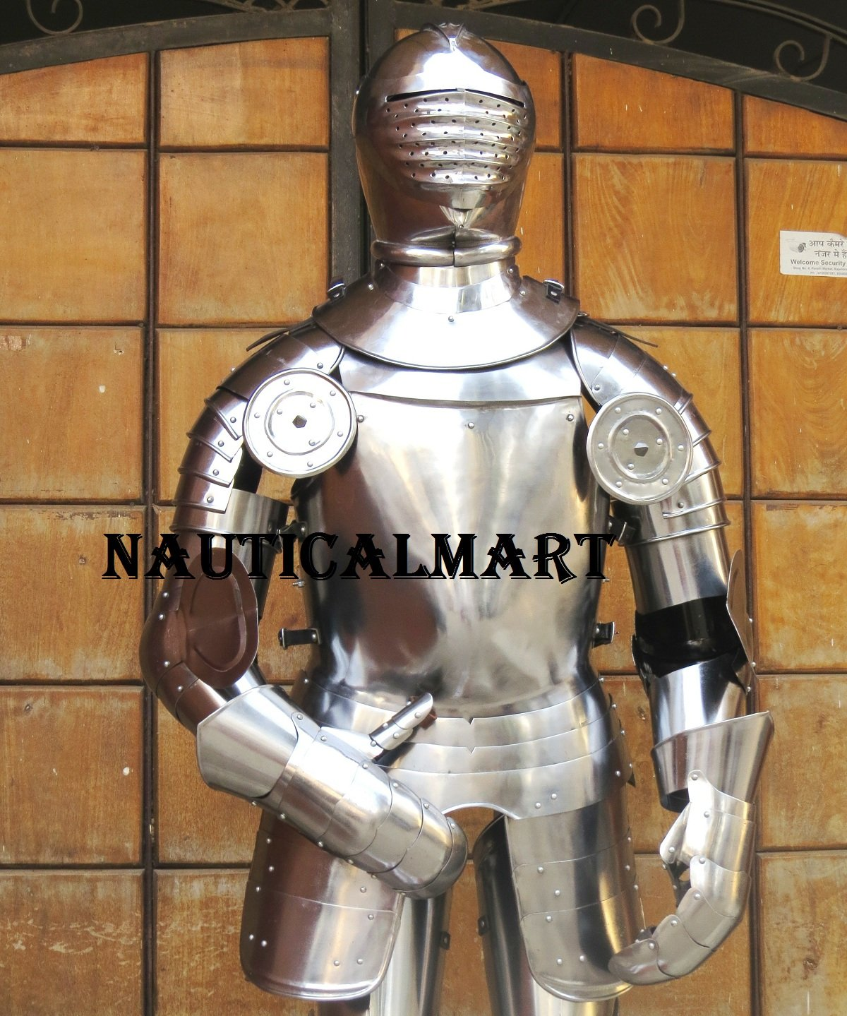 1515 - 'Field Armour' Halloween Medieval Rusting Wearable Suit Of Armor Reenactment