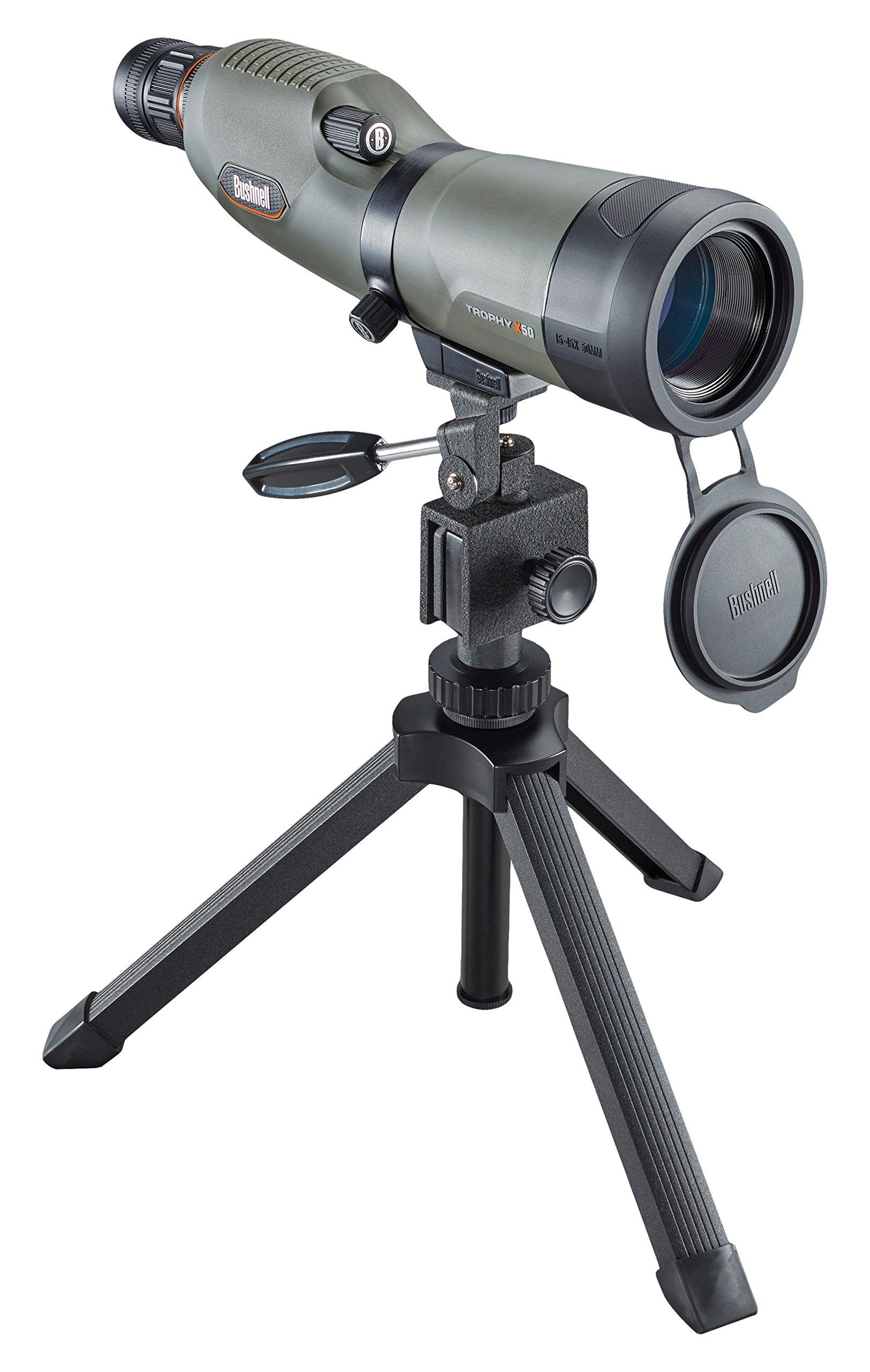 Bushnell Trophy Xtreme Spotting Scope, Green, 20-60 x 65mm by Bushnell