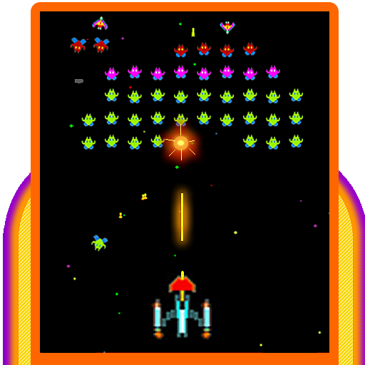 Galaxia Classic - 80s Arcade Space Shooter for sale  Delivered anywhere in USA