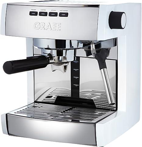 Graef ES 81 - Cafetera de espresso de acero inoxidable (15 bar): Amazon.es: Hogar