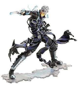 Kotobukiya Trigun Vash The Stampede Gunman In Black ArtFXJ Statue