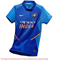 SRSR Team India Cricket Jersey World Cup 2019 | Polyester | Best Fit | Unisex | Easy Wash | Light Weight | Feel Good Cloth