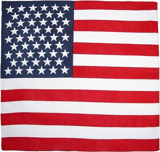 Multicoloured Large Fair Deal 12 Pack Flag Bandana 100/% Cotton Flag Headband Handkerchief Unisex Bandanas Patriotic Accessories