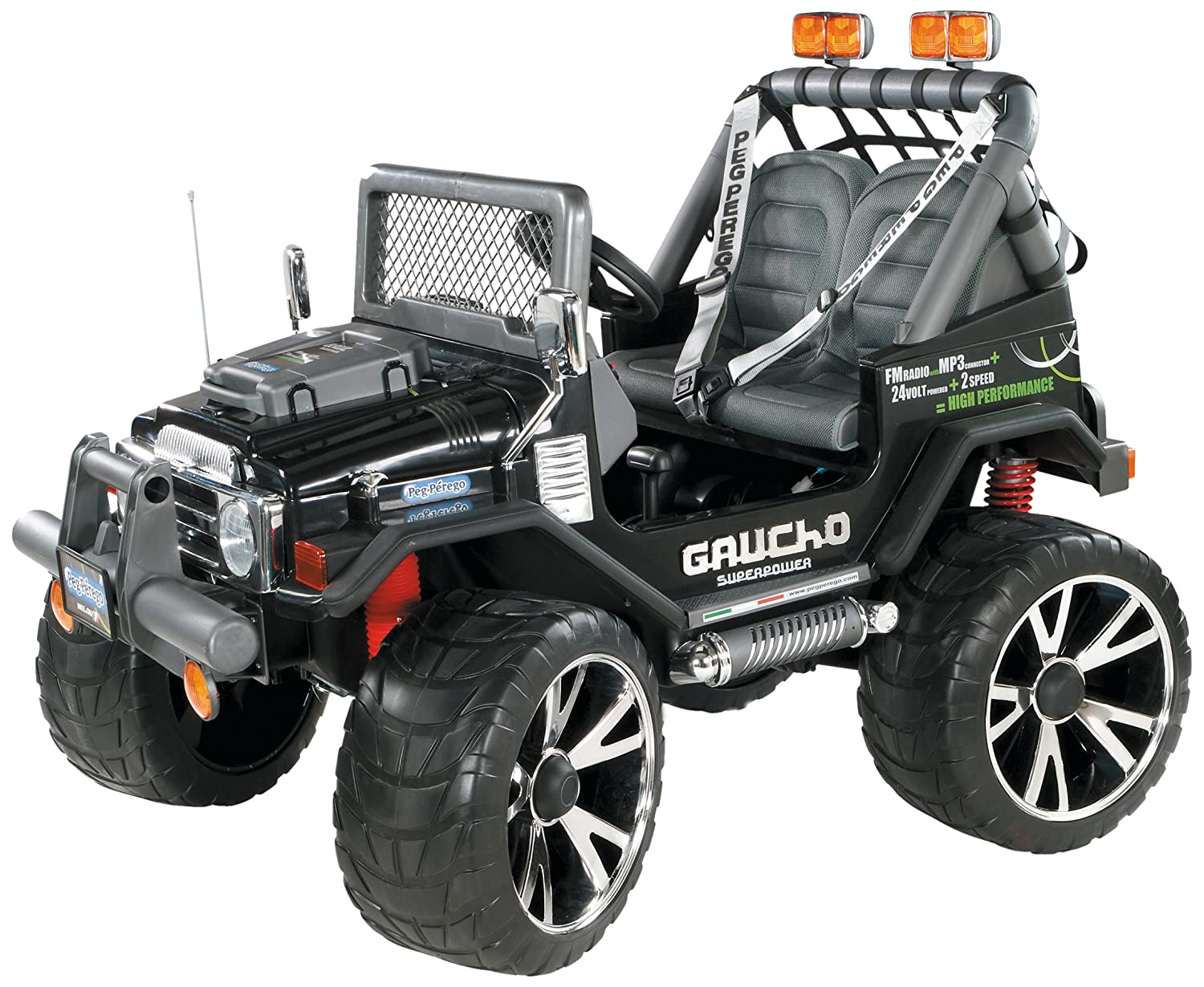 Peg Perego 24 Volt Gaucho Superpower Jeep: Amazon.co.uk: Toys & Games