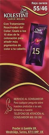 Wella Kolestint Tinte De Cabello Kit, Tono 5546 Rojo Exótico ...