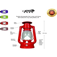 DNEXT Solar LED Emergency Lantern Light - Rechargeable, Portable - Travel Camping - Made in India
