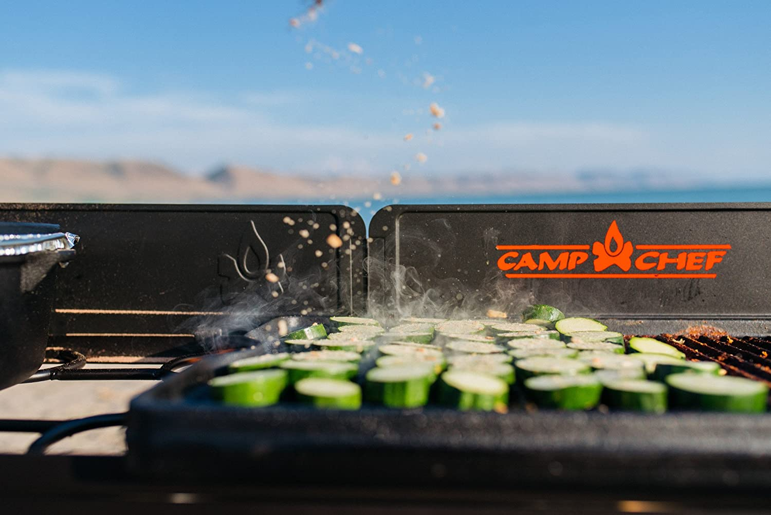 Camp Chef CGG24B Cast iron grill//griddle