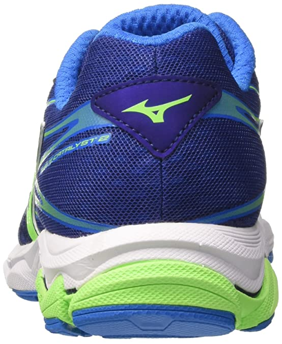 Amazon.com | Mizuno Wave Catalyst 2 Mens Running Shoes - Blue-11.5 | Road Running