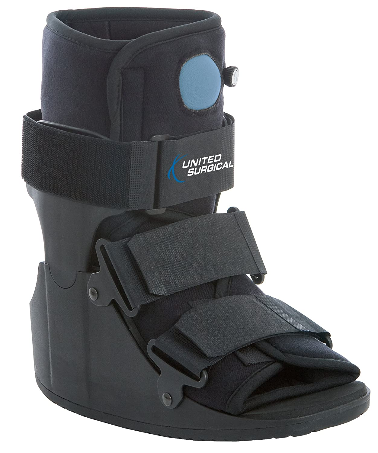 Closed toe medical walking shoe foot protection boot - Amazon Com United Surgical Short Air Cam Walker Fracture Boot Medium Health Personal Care