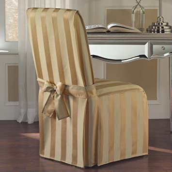 United Curtain Madison Dining Room Chair Cover 19 By 18 39 Inch