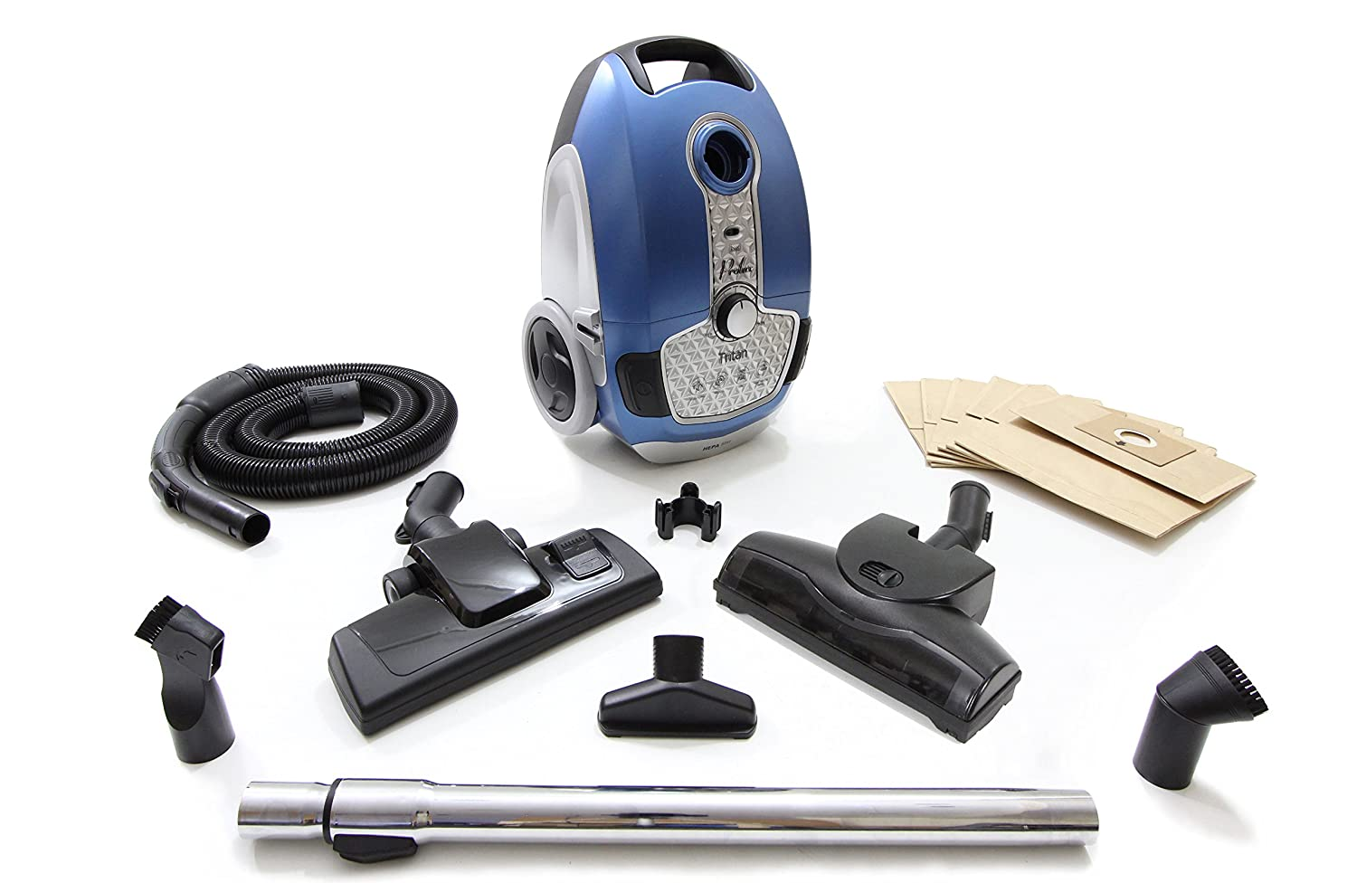 Amazon.com - Prolux Tritan Pet Turbo Canister Vacuum Cleaner HEPA Sealed Hard Floor Vacuum -