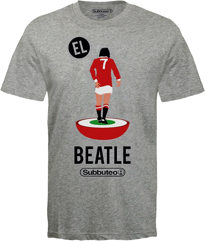 Subbuteo - Camiseta Oficial de la Leyenda del Manchester United Éric Cantona - para Hombre: Amazon.es: Ropa y accesorios
