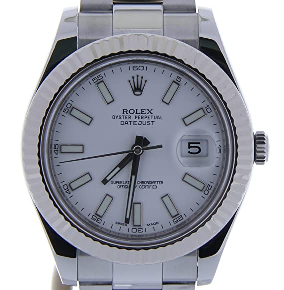 Rolex Datejust II automatic-self-wind Mens Reloj 116334 (Certificado) de segunda mano: Rolex: Amazon.es: Relojes