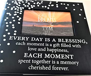 Amazoncom Every Day Is A Blessing Photo Album Black Faux Leather