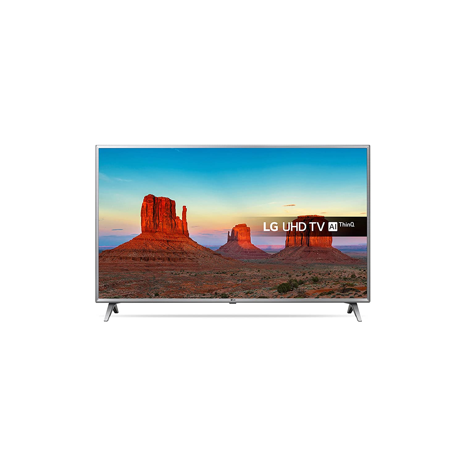 152e4c41df208 LG 75UK6500PLA 75-Inch UHD 4K HDR Smart LED TV with Freeview Play - Steel  Silver Black (2018 Model)  Energy Class A