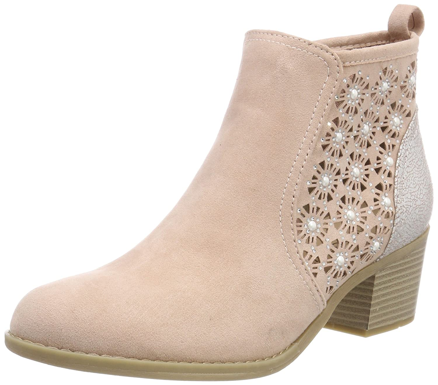 Marco Tozzi 25400, Botines (Rose Botines Femme, Dune Comb Rose (Rose Comb Comb) 71bec8a - reprogrammed.space