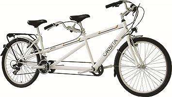 26 pulgadas Tandem bicicleta 21 velocidades Orbita Sintra, weiß ...