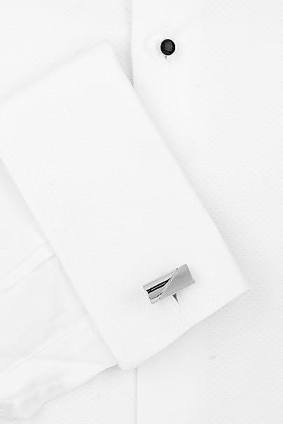 Moss 1851 Men's Marcella Regular Collar Slim Fit Dress Shirt: Amazon.co.uk:  Clothing