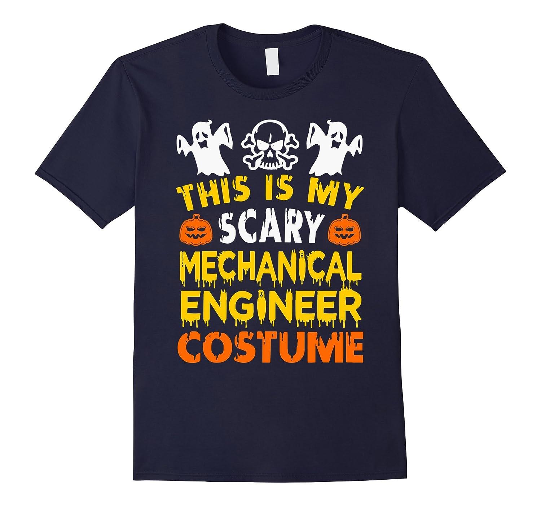 This is My Scary Mechanical Engineer Costume Halloween shirt-Art