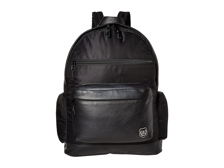 [クープルズ] The Kooples メンズ Sport Nylon and Leather Backpack バックパック [並行輸入品]  ブラック B01MRN0BBQ