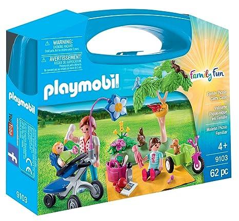 Playmobil Maletín Grande Picnic Familiar única 9103