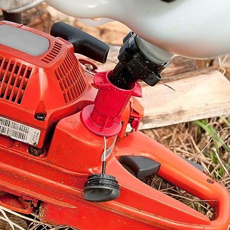 OREGON 562408 combi-can transparente, 5 litros de combustible y aceite 3 litros: Amazon.es: Bricolaje y herramientas