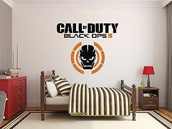 Amazon Com Call Of Duty Black Ops Iii Skull Custom Wall Decal