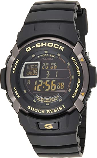 Casio G SHOCK Homme Digital Quartz Montre avec Bracelet en  Z8xYt