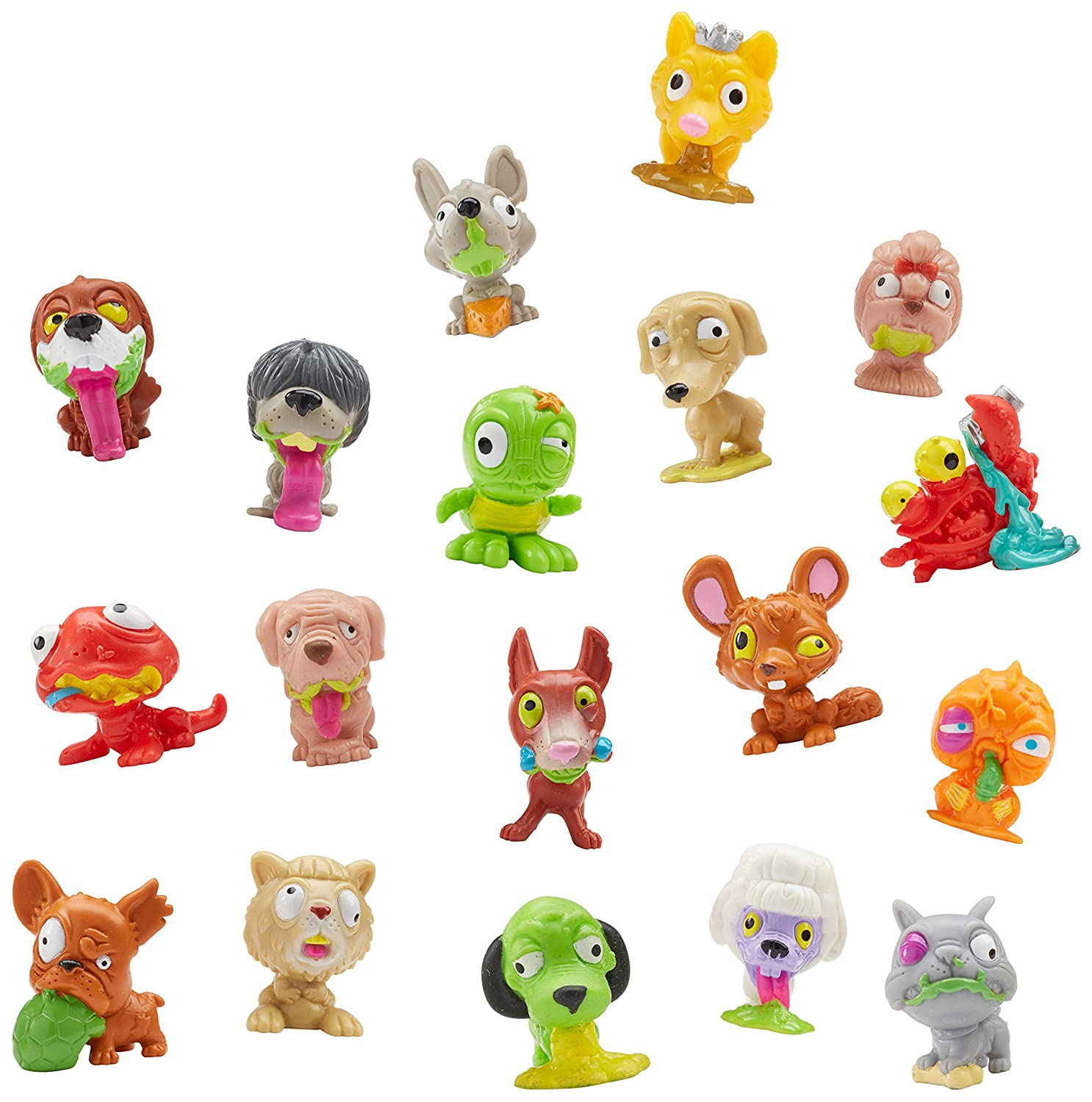 Amazon.com: THE UGGLYS PET SHOP Toy Figure (8-Pack): Toys & Games