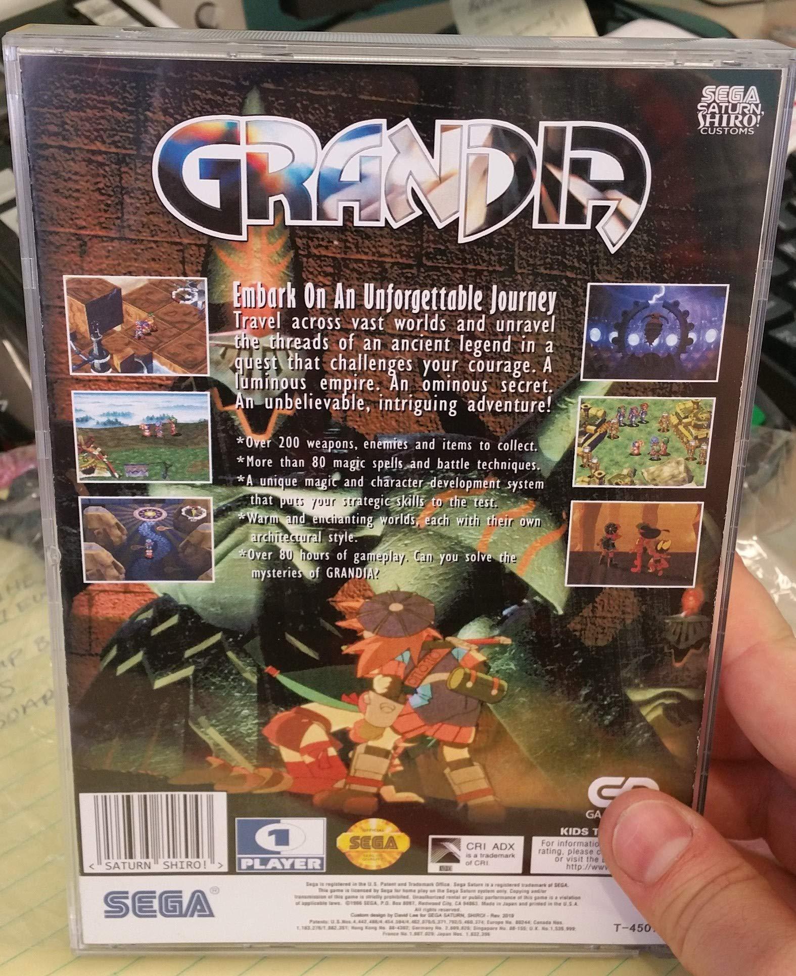 Sega CD / Sega Saturn replacement game cases 10 pack **SECOND RUN** by VGC online (Image #1)