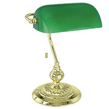 Eglo 90967 banker table lamp amazon kitchen home aloadofball Images