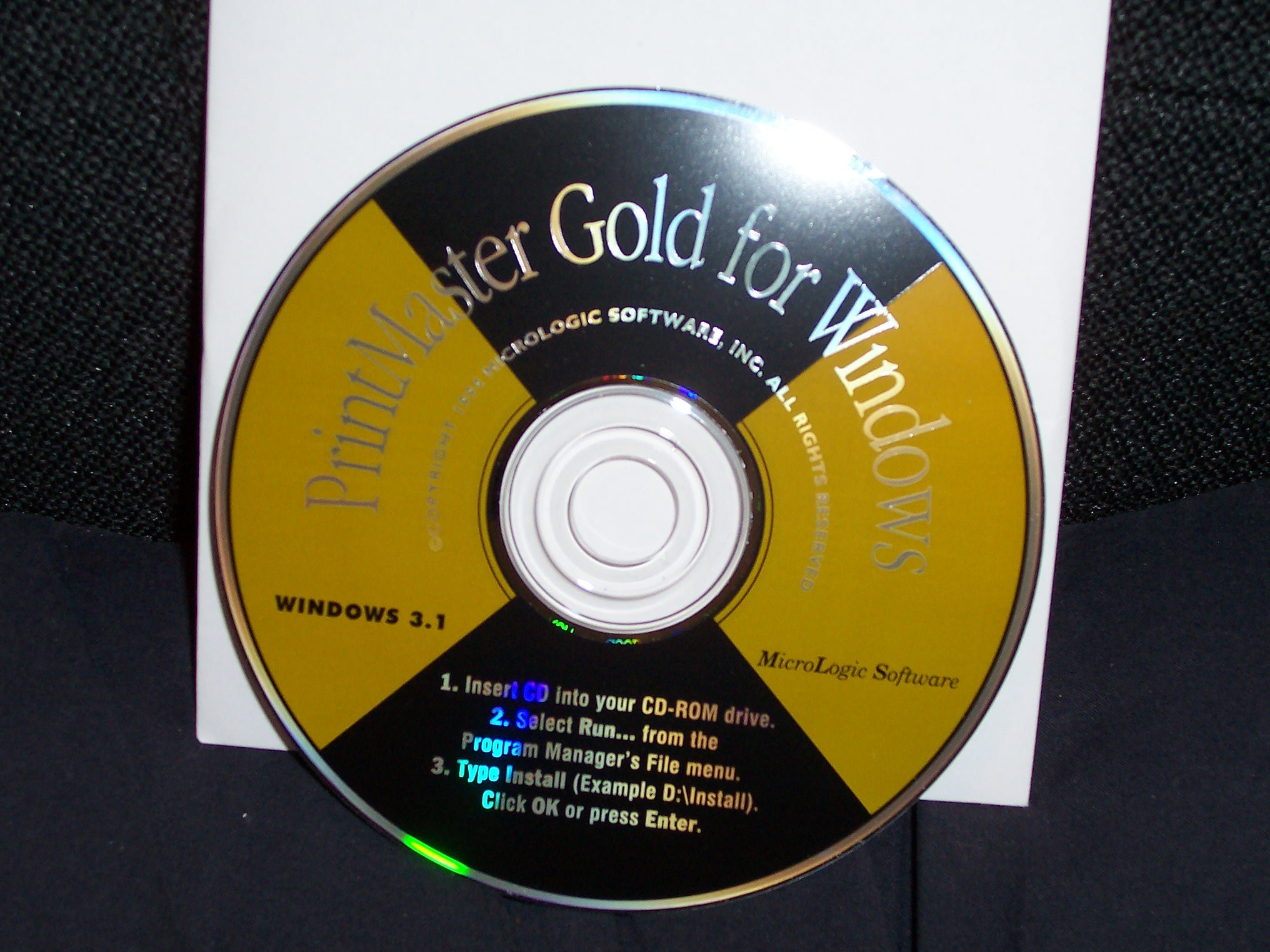 Printmaster Gold Classic for Windows 3.1 or Higher by SoftKey