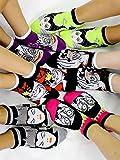 Disney Villains Teen Womens 6 pack Socks