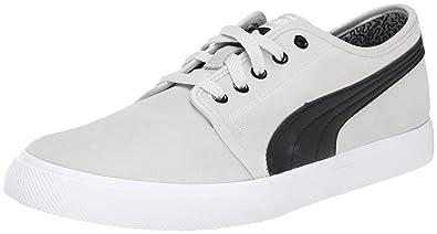 PUMA Men's EL Alta Suede Sneaker, Gray Violet/Black, ...