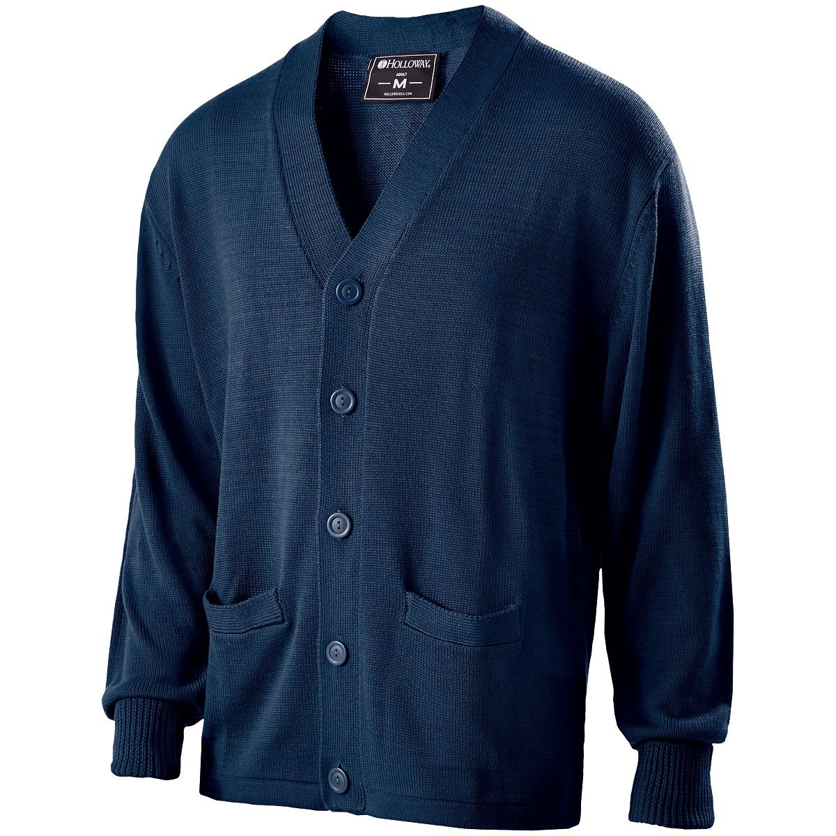 Holloway Sportswear LETTERMAN SWEATER Men's XS Navy