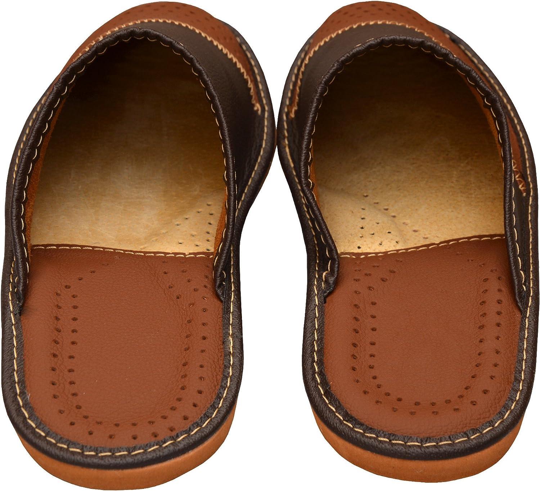 Pantoufles en cuir pour homme/_ VIP